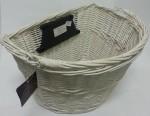 Koszyk wiklinowy na Click Biały