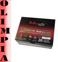 BioTech USA L-carnitine 20x25ml l-karnityna+władki