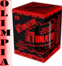 Fitness Authority DETONATOR 800g + SHAKER