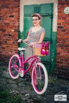 rower miejski cruiser Lady Pink