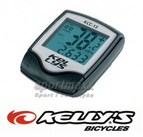 Licznik komputerek rowerowy Kellys 13 funkcji KCC-13