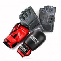 rękawice bokserskie i do MMA