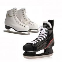 łyżwy figurowe i hokejowe