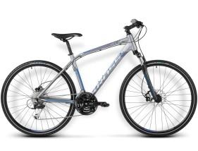 Rower Evado 4.0 Grafitowy / niebieski mat