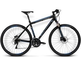 Rower Evado 3.0 Czarny / niebieski mat