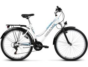 Rower Grand Tivano Biało / niebieski połysk