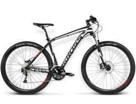 Rower Level B3 czarny / biały / czerwony mat
