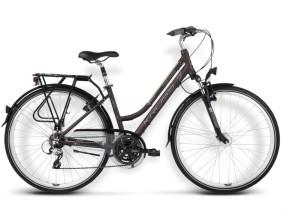 Rower Trans Siberian brązowy / kremowy mat