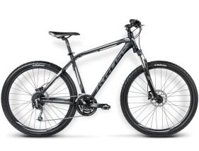 Rower Hexagon R8 czarny / grafitowy / srebrny mat