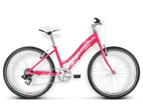 Rower Modo malinowy / różowy połysk