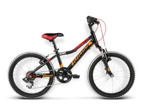 Rower Level Mini czarny / czerwony / pomarańczowy połysk