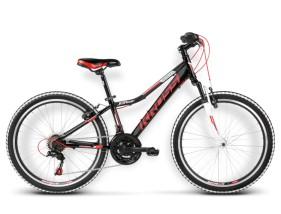 Rower Hexagon Replica czarny / czerwony połysk
