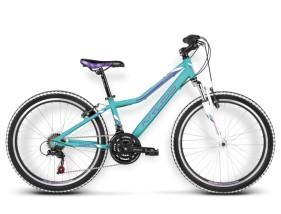 Rower Lea Replica turkusowy / fioletowy połysk