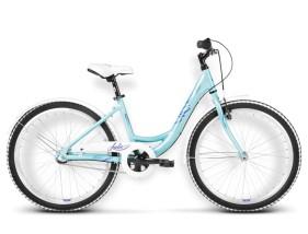 Rower Julie błękitny / fioletowy połysk