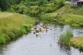 Letnie spływy kajakowe