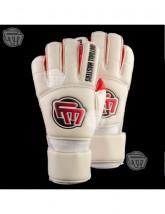 RĘKAWICE BRAMKARSKIE Football Masters Full Giga Grip Roll Finger RED