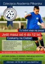 Zajęcia piłkarskie dla dzieci