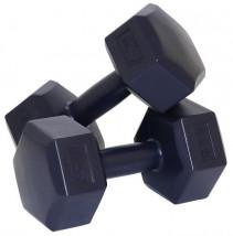 HANTLE HANTELKI CIĘŻARKI 2x5 KG 10kg ZESTAW HANTLI Sportvida SV-HK0221